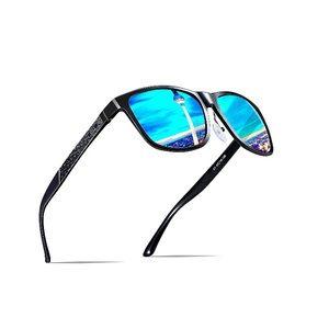 Other - Men's Retro Metal Frame Polarized Sunglasses
